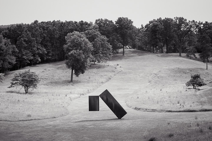 Storm King Art Center #5. Suspended by Menashe Kadishman
